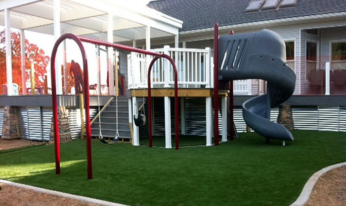 Artificial Grass for Playgrounds in Virginia